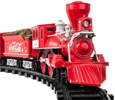 Lionel Trains Coca-Cola Holiday G-Gauge Train Set Deal