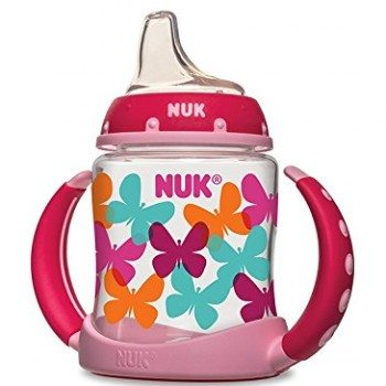 NUK Fashion Butterflies Learner Cup, 5-Ounce Deal