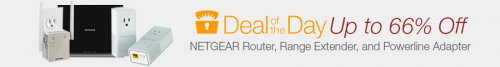 Netgear Router, Range Extender, & Powerline Deal
