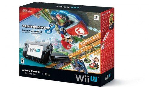 Nintendo Wii U 32GB Mario Kart 8 (Pre-Installed) Deluxe Set Deal