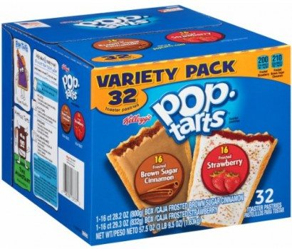 Pop-Tarts, Variety Frosted Strawberry and Frosted Brown Sugar Cinnamon, 32 Count, 57.50 Ounce Deal