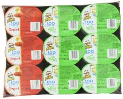 Pringles 2 Flavor Snack Stacks, 0.63 Ounce, 18 count Deal