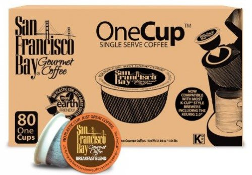 San Francisco Bay OneCup, Breakfast Blend, 80 Single Serve Coffees Deal