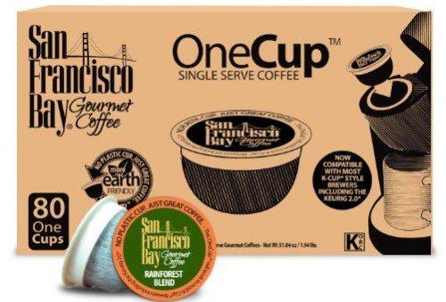San Francisco Bay OneCup, Organic Rainforest Blend, 80 Single Serve Coffees Deal