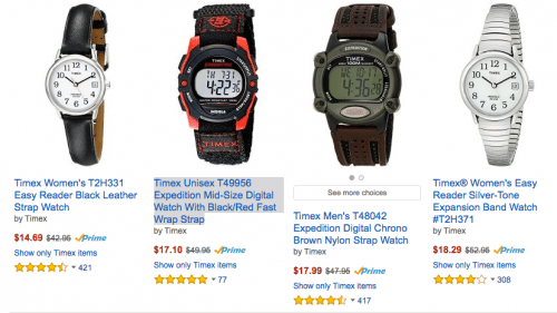 Save 50% off Timex watches