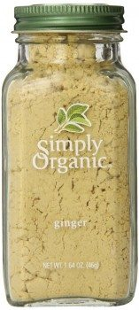 Simply Organic Ginger Root Ground Certified Organic, 1.64-Ounce Container Deal