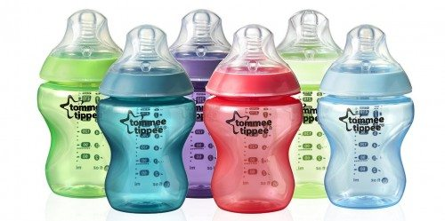Tommee Tippee Closer to Nature Fiesta Bottle, 9 Ounce, 6 Count Deal