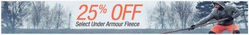 Under Armour Fleece Deal