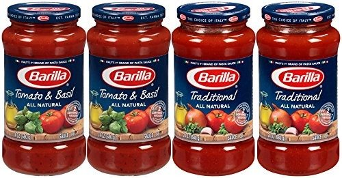 Barilla Pasta Sauce Variety Pack, 24 Ounce, 4 Jars Deal