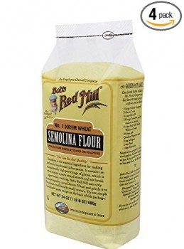 Bob's Red Mill Semolina Pasta Flour, 24-Ounce (Pack of 4) Deal