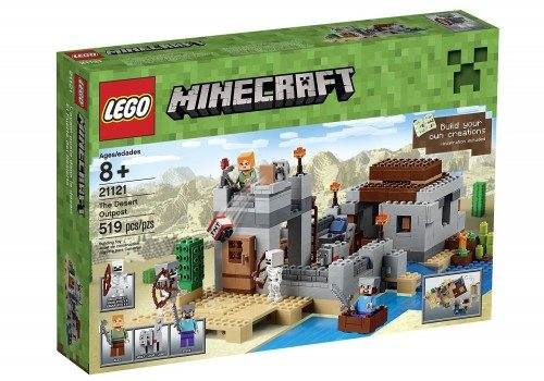 LEGO Minecraft 21121 the Desert Outpost Building Kit Deal
