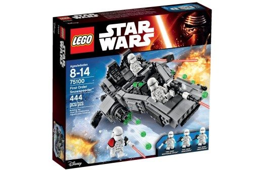 LEGO Star Wars First Order Snowspeeder 75100 Building Kit Deal