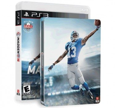Madden NFL 16 & SteelBook (Amazon Exclusive) - PlayStation 3 Deal