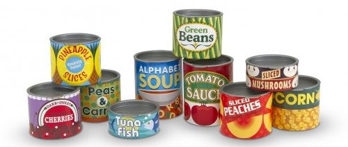 Melissa & Doug Let's Play House! Grocery Cans Deal