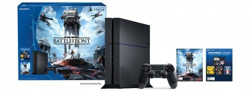 PlayStation 4 500GB Console - Star Wars Battlefront Bundle Deal