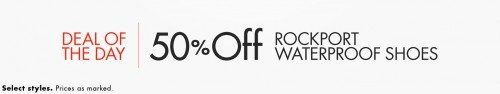 Rockport Waterproof Men's & Women's Shoes Deal