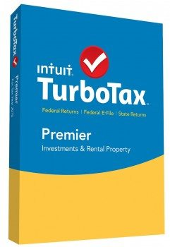 TurboTax Premier 2015 Federal  State Taxes  Fed Efile Tax Preparation Software - PC Mac Disc Deal