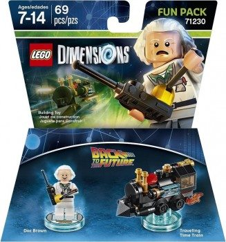 Back to the Future Doc Brown Fun Pack - LEGO Dimensions Deal