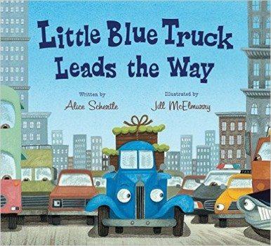 Little Blue Truck Leads the Way board book Deal