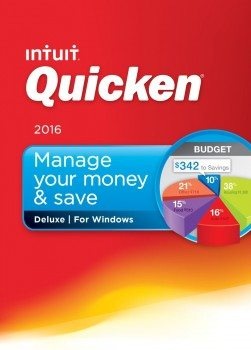Quicken Deluxe 2016 Personal Finance & Budgeting Software Deal