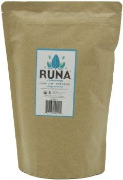 Runa Clean Energy, Organic Loose Leaf, Mint Guayusa Tea, 1 Pound Deal