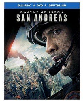 San Andreas (Blu-ray + DVD + UltraViolet)
