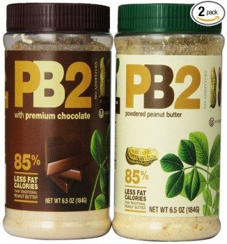 Bell Plantation PB2 Powdered Peanut Butter and PB2 with Premium Chocolate, 6.5 Ounce (Pack of 2) Deal