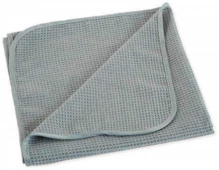 Chemical Guys MIC78101 Waffle Weave Gray Matter Microfiber Drying Towel - 25 in. x 36 in. Deal