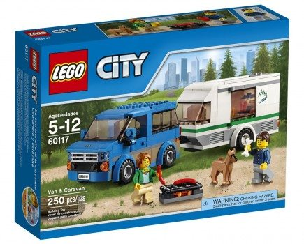 LEGO CITY Van & Caravan 60117 Deal
