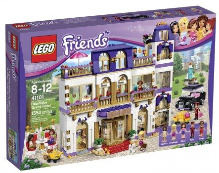 LEGO Friends 41101 Heartlake Grand Hotel Building Kit Deal