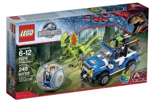 LEGO Jurassic World Dilophosaurus Ambush 75916 Building Kit Deal