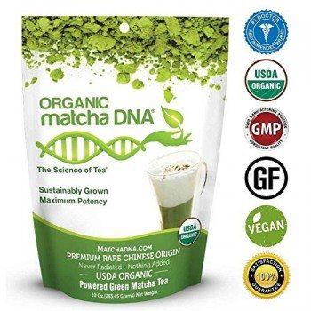 MatchaDNA Organic Powdered Matcha Green Tea, 10 Ounce Deal