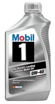 Mobil 1 96989 0W-40 Synthetic Motor Oil - 1 Quart (Pack of 6) Deal
