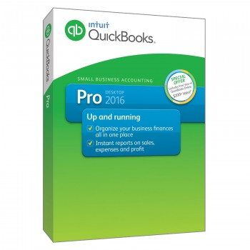 QuickBooks Pro 2016 Small Business Accounting Software with Free QuickBooks Online Essentials Deal
