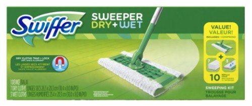 Swiffer Sweeper Floor Mop Starter Kit Dwal