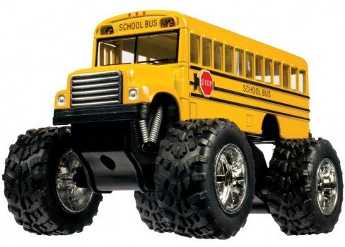 Toysmith Monster Bus (5-Inch) Deal
