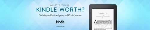 What's Your Kindle Worth Deal