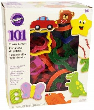 Wilton 2304-1104 101 Piece Cookie Cutter Set Deal