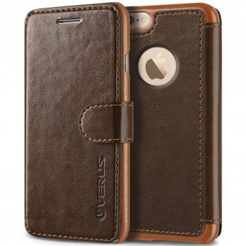 iPhone 6S Case, Verus [Layered Dandy][Coffee Brown] - [Card Slot][Flip][Slim Fit][Wallet] - For Apple iPhone 6 and iPhone 6S 4.7 Devices Deal