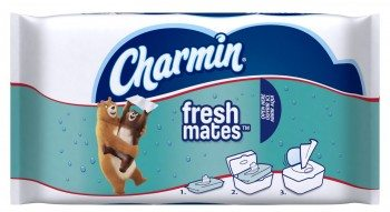 Charmin Freshmates Flushable Wipes, 40 Count (Pack of 12) Deal