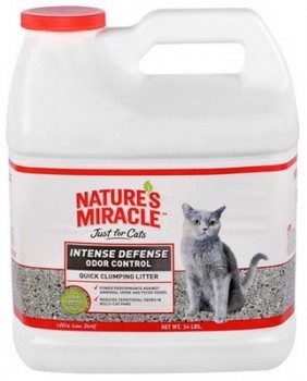 Nature's Miracle Intense Defense Clumping Litter, 14lb Deal