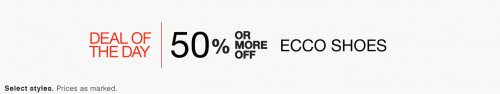 ECCO Men's and Women's Shoes Deal