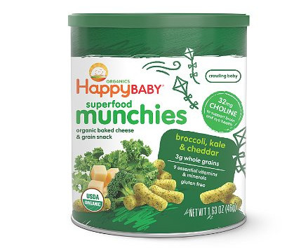 Happy Baby Organic Superfood Munchies Baked Cheese Deal
