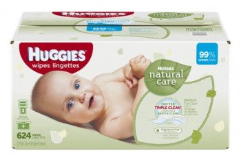 Huggies Natural Care Baby Wipes Refill, 624 Count Deal