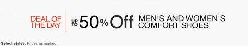 Men's and Women's Comfort Shoes Deal