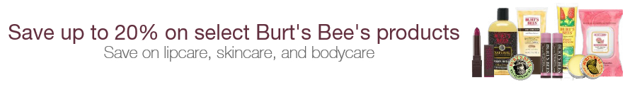 Burt's Bees Products Deal