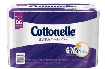 Cottonelle Ultra ComfortCare Family Roll Toilet Paper, Bath Tissue, 36 Rolls Deal