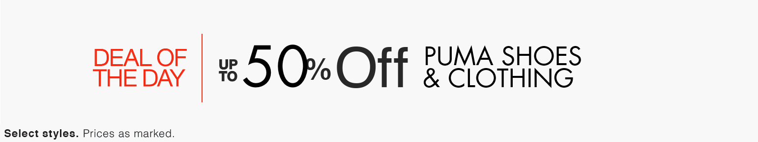 PUMA Shoes & Clothing Deal
