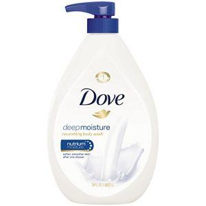 Dove Body Wash, Deep Moisture 34 oz Deal