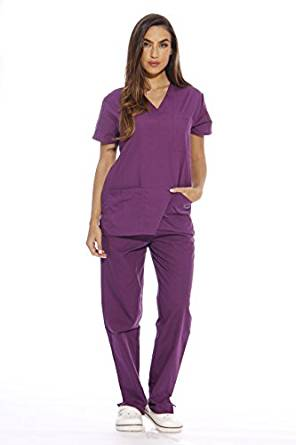 Just Love Women's Scrub Sets Medical Scrubs (V-Neck) Deal